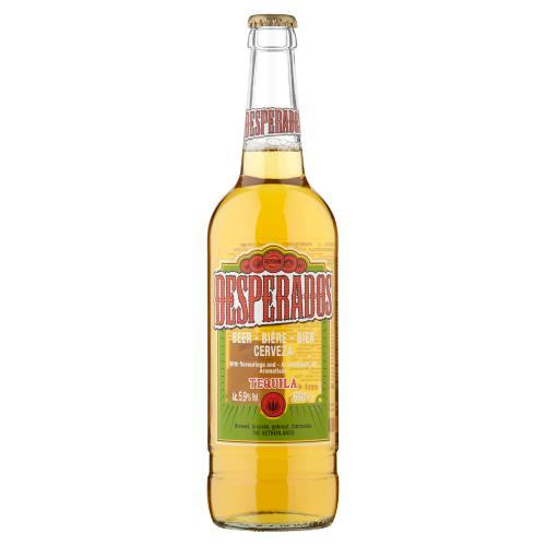 Desperados Tequila Lager Beer 650ml Bottle