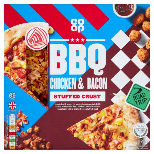 Co Op Stuffed Crust Dirty Louisiana Bbq Chicken 509g